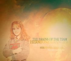 The brains, Hermione by MarySeverus