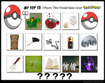 Objects I Think Would Make Great Pokemon by KessieLou