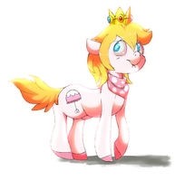 Prince Apricot by cappydarn