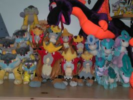 Legendary Dog Plush Collection Update by doryphish333