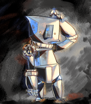 Robo-son by Indefie