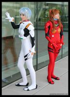 Otakon 2011 - Eva 02 by greenjinjo