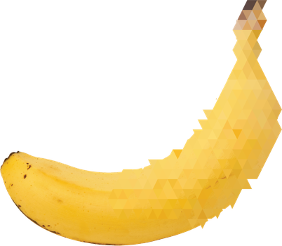 A glitch in the banana by Thomotron
