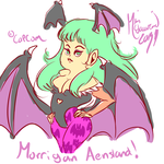 Morrigan! by LoriAndroid2000