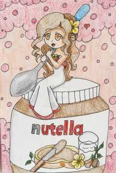 Nutella-chan by Punisher2006