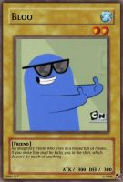 Bloo card by urkel8534