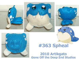 Spheal of Felt by ArtikGato