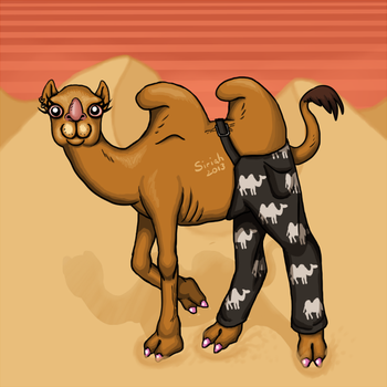 Camel pants by Siriah