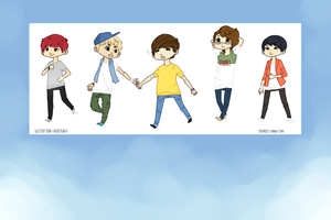 B1A4 and Hello Baby by poweryeol