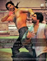 ACB Fight Club and Plain-Clothed Ezio for XNALara by raccooncitizen