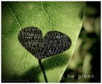 be green. by inktice