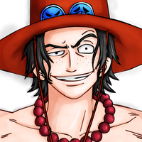 Portgas D. Ace by FajerPS