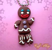Gingerbread man by coffishop