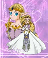 Princess Zelda 2005 by TheHeroine