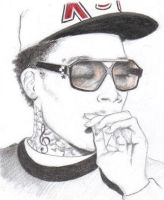 Wiz Khalifa by Born2Art