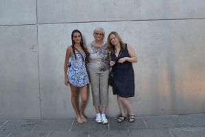 With gradma and aunt by MakyPospi