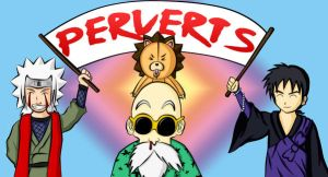 Four Perverts by Zelinky