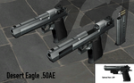 Desert Eagle .50AE - Rigged by ProgammerNetwork