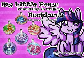 MLP Pendant Necklaces FOR SALE by TCStarwind