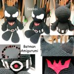 Batman Amigurumi by Saekoi