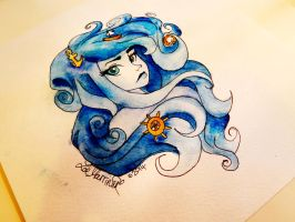 Curly Waves by xBeyondTheGalaxies