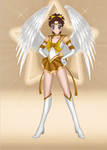 Angel Sailor BronzeSun by JediSenshi