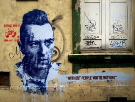 Joe Strummer (without people you're nothing) by nkdk