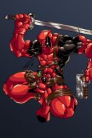 Deadpool Color Update by Przemo85