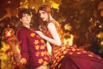 Autumn Prince and Princess by MOTPhotography