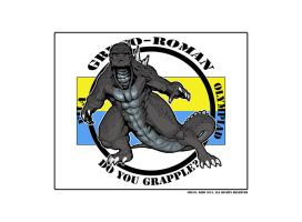 GodzillaFILA Grapple by Dezarath