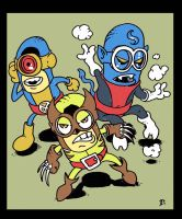 The Uncanny X-MINIONS by dragonfish74