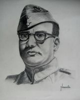 netaji subhash chandra bose by capricorn-kid