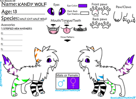 Kandy's Reference Sheet by Halloween1313