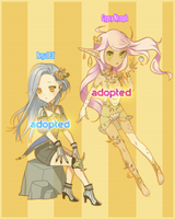 Adoptable: Elf and Nymph [CLOSED] by soda222