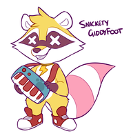 Snickety GiddyFoot by Ponacho