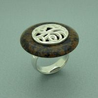 Jasper Ring by orfeujoias