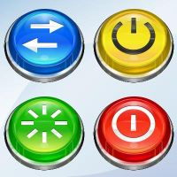 NX Buttons by MazeNL77