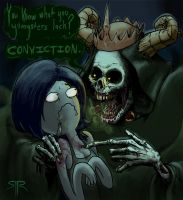 Lich King Meets Marceline by SIRCollection