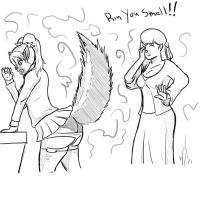 Cmsn Rin smells TF 1 by Dragon-Storm