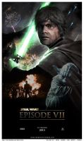 Star Wars Episode VII Poster 2015 by DarthTemoc