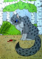 Broken hearted - Ashfur by FlareAKACuteFlareon
