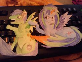 My little ponies by MatchCense