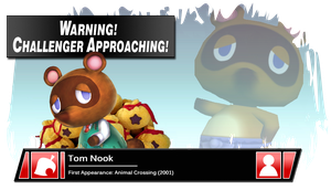 SSB4 Banner: Tom Nook by Pixiy