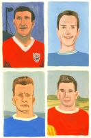 Footballers by Teagle