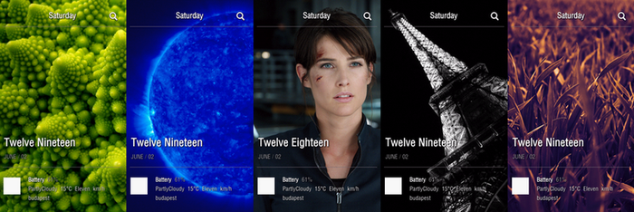 Flipboard style android home screen by RdsG
