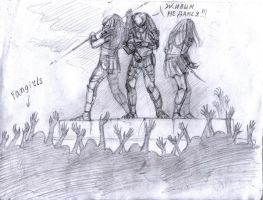 AvP: Fangirls vs predators by Unita-N