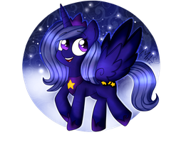 -AT- Princess Moon by Mitz-Sweet