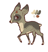 Deer Adoptable 1. CLOSED by MichelsAdoptions