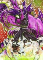 ACEO Kyuubreon by Nachiii