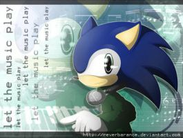Sonic - Let the music play by Dj-Reverberance